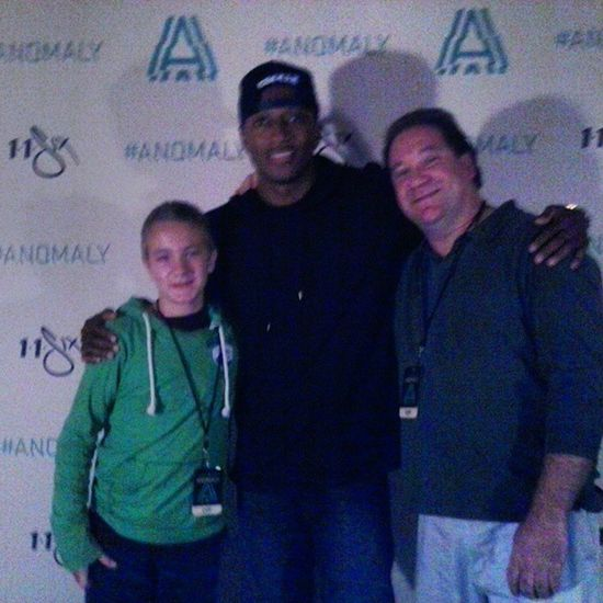 Pic with the man Lecrae Lecrae Anomaly Tour I gave him the note @jevinzimmerman