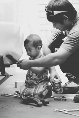 Little mechanic no.2 Baby Mechanic Car Fix