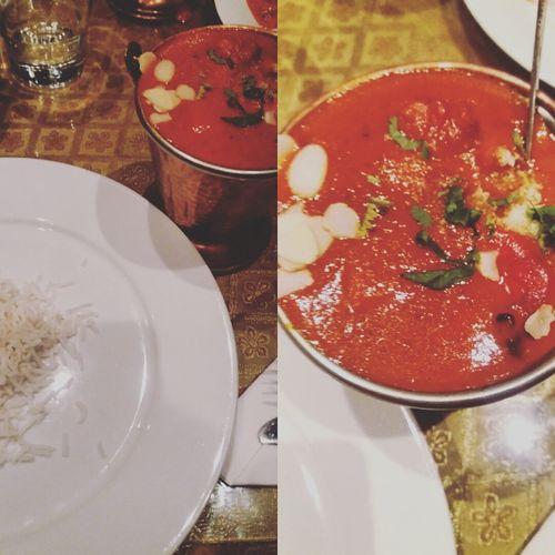 Street Food Worldwide Butter Chicken Curry Indiancuisine