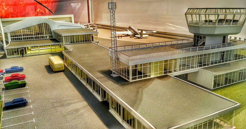 Town Hall Museum Model Airport now a Tesco  ... Doors Open Day Renfrewshire 2015