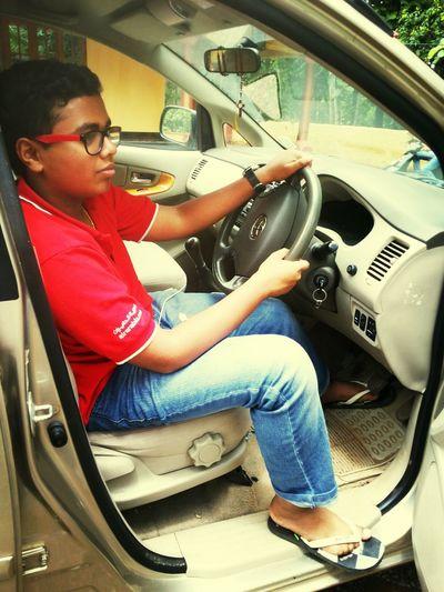 me driving new innova 2013