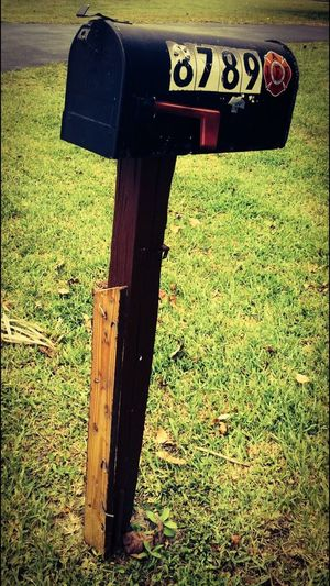 My great grandmother recently passed. This was her mailbox and, in a way, it explains her way of life. Mailbox Enjoying Life Check This Out Hello World