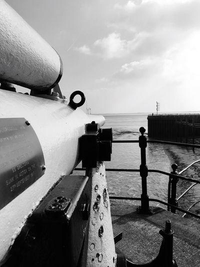 Anti-submarine Gun SS Greltoria Sluice Gates Hull Marina Humber Estuary Hull City Of Culture 2017 Hull2017