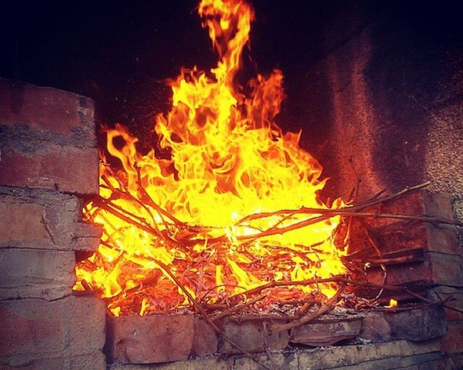 Flame Fire - Natural Phenomenon Burning Heat - Temperature No People Metal Industry Close-up Horizontal Night Outdoors