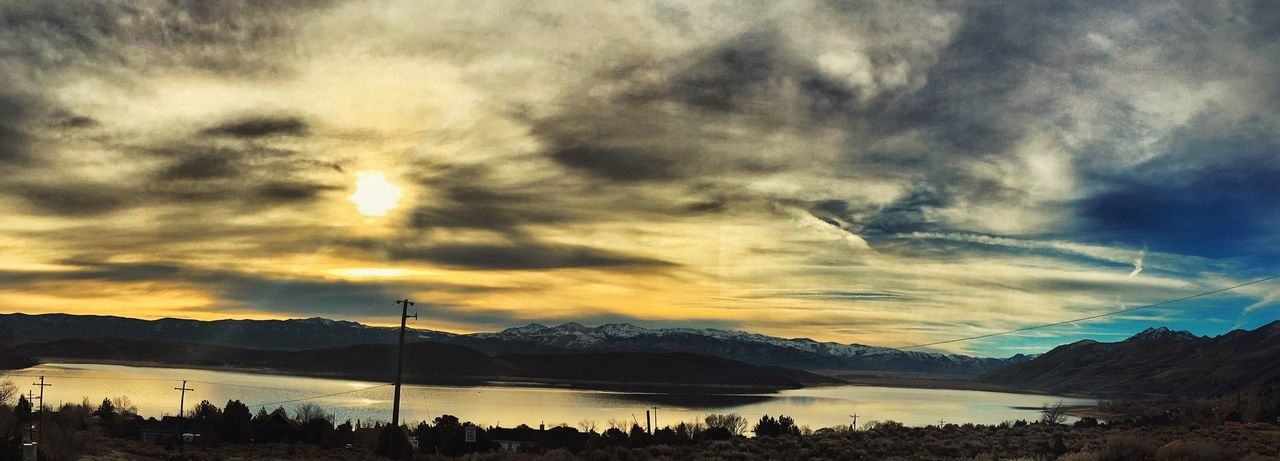 I Want To Go Back To This Place. When I Was There, I Didn't Have A Stressful Thought In The World. TopazLake Nevada Sunrise_Collection Sunrise Sunrise And Clouds Sunrise And Clouds Sunrise And Trees Littlegetaway First Eyeem Photo