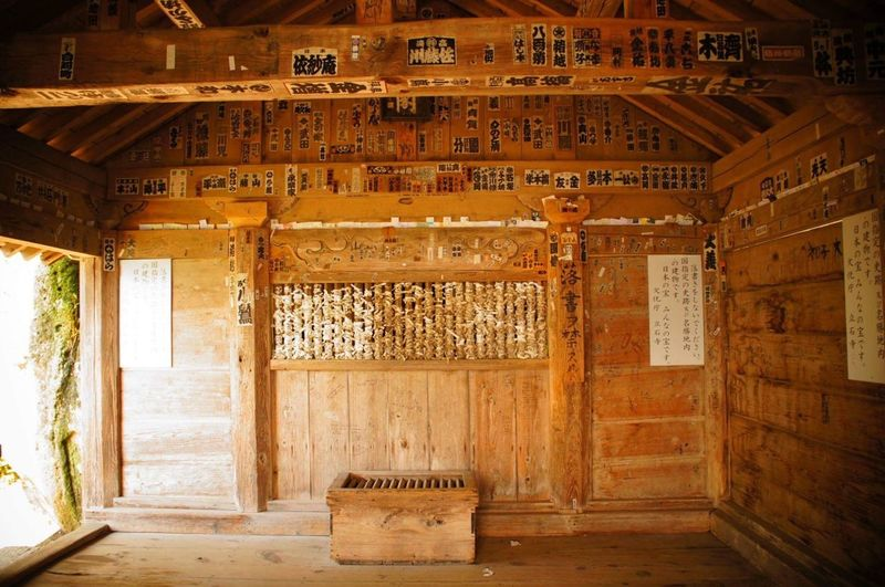 The Secret Spaces No People Indoors  Built Structure Architecture Day Traditional Neighborhood Map Yamadera Japan YAMAGATA