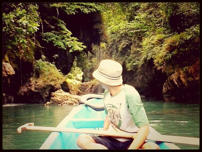 My best friend Live Near YouRiverphotography Eyeemnaturelover Nature at Green Canyon River,West Java
