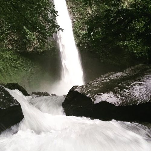 La Fortuna waterfall Fortuna Waterfall Costarica