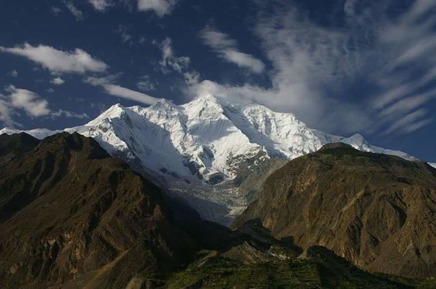 This is Domani Rakaposhi Nagar Hunza Valley Pakistan