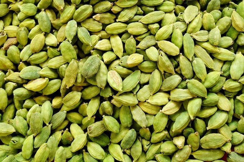 Full frame shot of green food