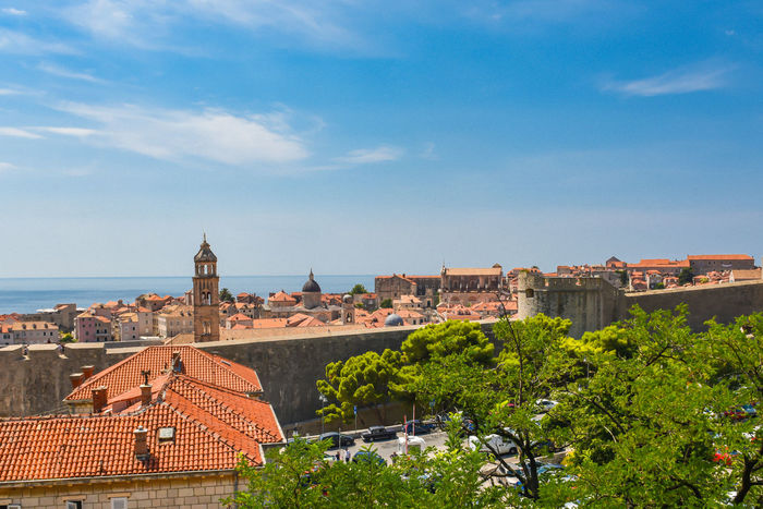 Dubrovnik, Croatia Holiday Mediterranean  Mediterranean Sea Old Town Red Roof Rooftop Adriatic Adriatic Coast Adriatic Sea Architecture Building Exterior Built Structure Coratia Day Dubrovnik Nature No People Outdoors Roof Sky Summer Tiled Roof  Travel Destinations
