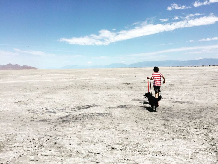 Running through Saltflats in Utah Hanging Out Hello World Taking Photos Enjoying Life Nature Outdoors