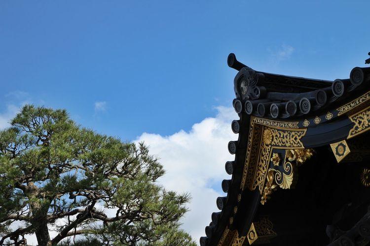 Amazing Architecture Kyoto Japan Nijo Castle Ancient Architecture Rooftop