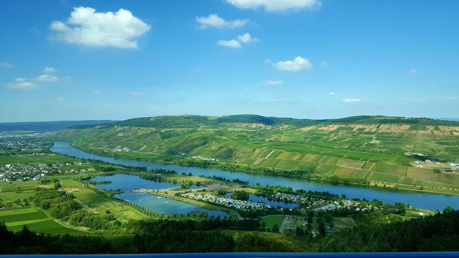 Beautiful morning passing the mosel river. Water Tranquil Scene Sky Travel Destinations Germany🇩🇪 Loadmasterlife Travellife Beauty In Nature LovingLife