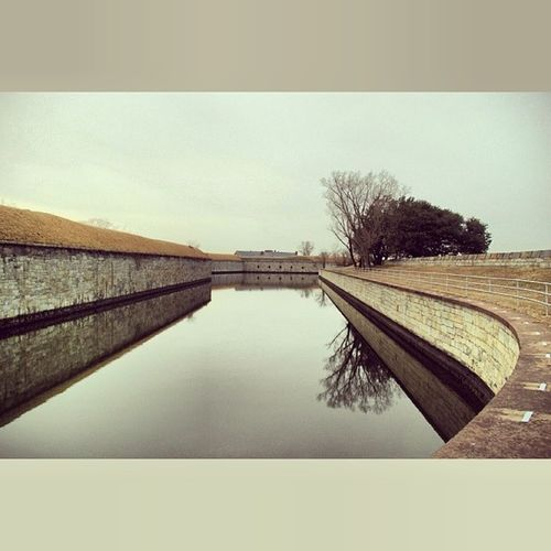 The other side. FortMonroe Hampton Virginia Historical This is a portion of the casement. 2/20/14