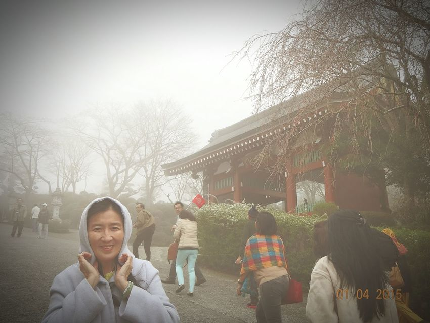 Street Photography Taking Photos Buddhist Temple foggy weather raining day Nice Picture 😉👌