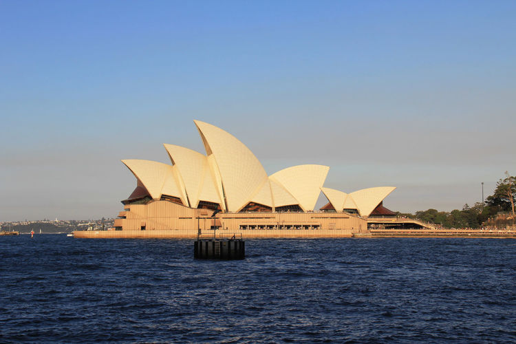 Water Waterfront Architecture Sky Built Structure Building Exterior Sea Nature No People Day City Outdoors Clear Sky Travel Copy Space Scenics - Nature Travel Destinations Operahouse Opera House Sydney Opera House Sydney, Australia Sydney