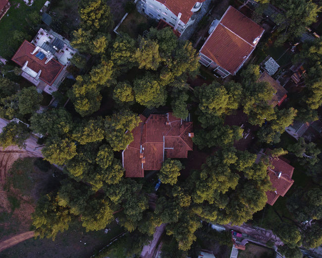 Aerial View Of Residential Buldings
