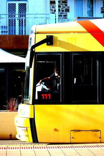 Tram Yellow Getting Around