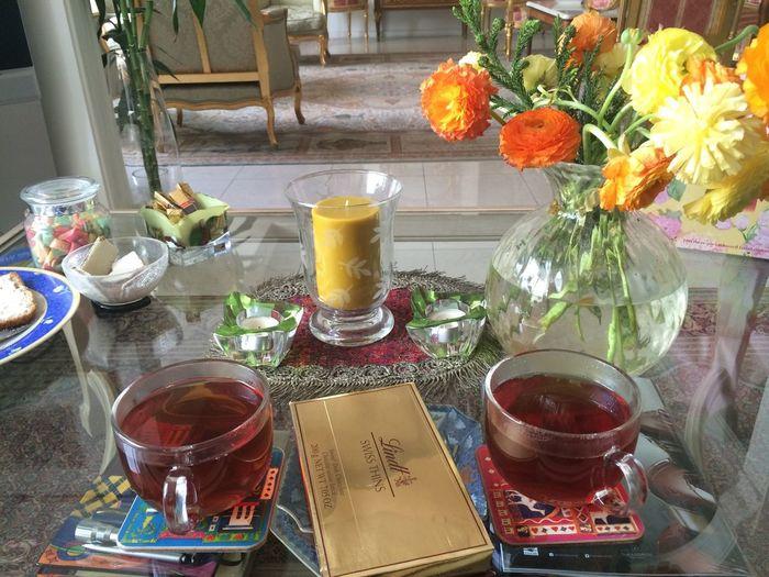 Morning Breakfast Tea Enjoying Life