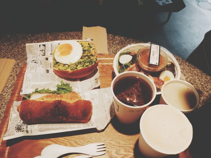 EyeEm Selects 台湾 Food And Drink Food Bread Freshness Ready-to-eat 开心就好 Foodporn Taiwan Kaohsiung 高雄市 台湾旅行 Comfort Food Breakfast 早餐很重要 早餐 Indoors
