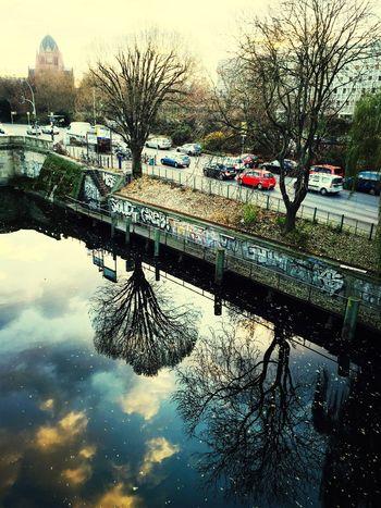Berlin Commuting Trees River Kanal