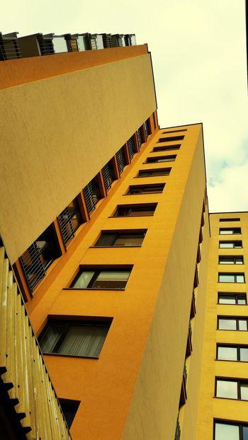 Urban Landscape Yellow Architecture Building Exterior Built Structure