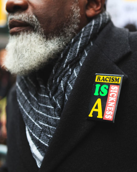 Black Lives Matter Civil Rights  Close-up Day Focus On Foreground Lifestyles No Racism Outdoors Portrait Protest Selective Focus
