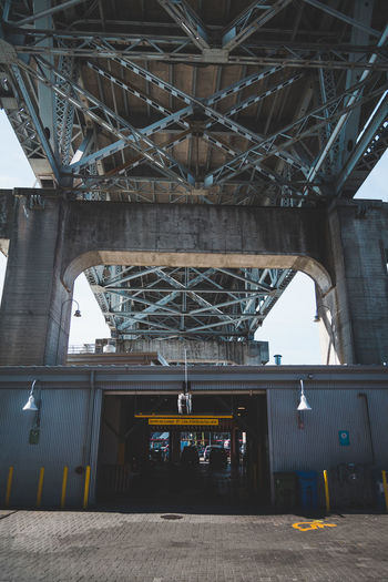 Architecture Bridge - Man Made Structure Built Structure Connection Day Low Angle View No People Outdoors Transportation