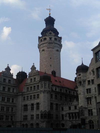 Neues Rathaus Leipzig Architecture Tower Built Structure Travel Destinations Tourism City