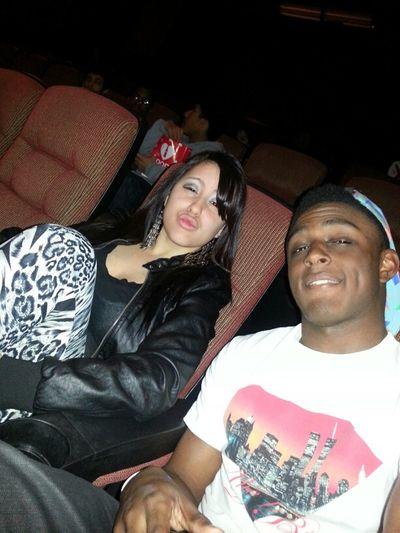 Me & Yolanda Mobbin At The Theatre.
