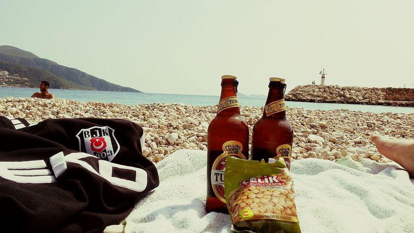 Tuborg Ice Cold Beer  Besiktas Enjoying The Sun Beach Mediterranean  Break For Life Tadaa Community Beer Music