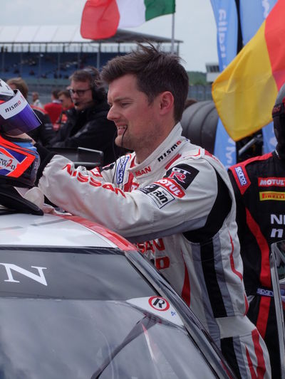 Nissan Driver - 2016 Blancpain GT Series - Endurance Cup Composition Contemplation Costume Cute Driver Endurance Racing Enjoyment Full Frame Fun GB GT Incidental People Leisure Activity Lifestyles Man Outdoor Photography Portrait Racing Driver Silverstone Sports Man Uk Young Man