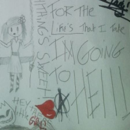 Some of my the pretty reckless drawring Theprettyreckless Goingtohell