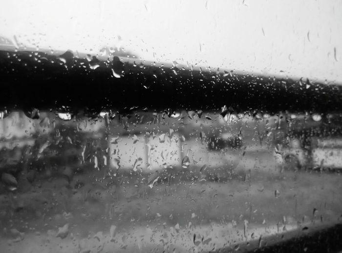 The first drops of rainy season Rain Drops Rain Rainy Days Rainy Season Rainfall Beauty Of Nature Beauty Of Rainfall Raindrops Behind Glass Raindrops On Window Glass Window Window Black And White Black & White Light And Shadow