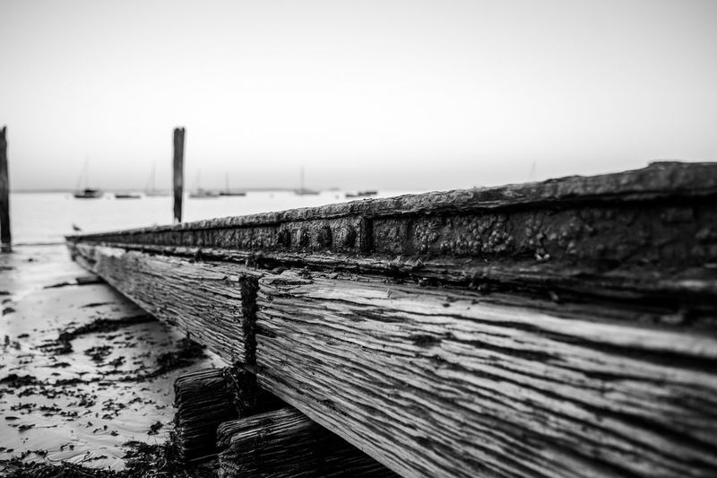 Rusty boat ramp. Time has created great details on it, this is the power of nature. By The Sea Ramp Rusty Rustygoodness Old Detail Stunning Close Up Melbourne Australia EyeEm Best Shots Beach Sand Black And White Blackandwhite Photography Blackandwhite The Great Outdoors - 2016 EyeEm Awards Break The Mold