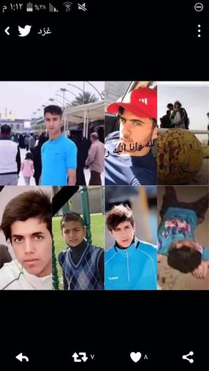 Some of the kids that's killed by ISIS suicidal attack on football game in iraq Prayforiraq Pray For Belgium Prayforparis Iraq Baghdad