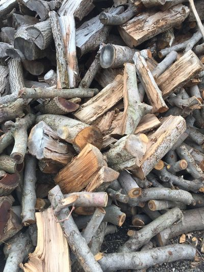 Close-up Firewood Firewood Stack Large Group Of Objects Log No People Wood Wood - Material Wooden