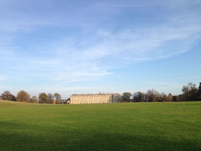 National trust day out 17th Century Architecture Built Structure Distant Grass History Landscape Listed Building National Trust Nature No People Outdoors Petworth Petworth House Sky Spring Stately Home Travel Destinations Tree View