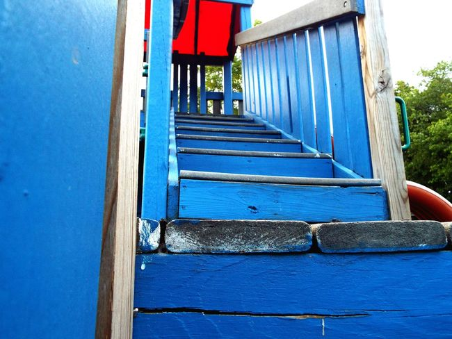 Playground Playground Equipment Playground Structure Beach Blue Wood Stairs Beatiful Enjoying Life Hello World