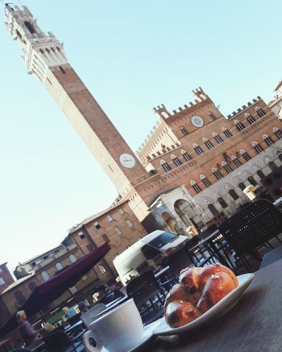 Buongiorno da Siena l! ☕🌞 Siena Buongiorno Tuscany Toscana Italy Italia