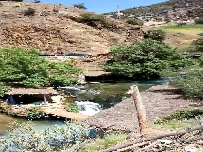 Oum Er-Rbia 3oyoun Oum Rabie Beauty In Nature Nature Scenics Sky Tranquility Travel Destinations Tree Water
