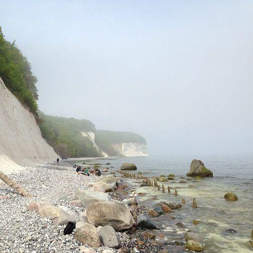 Kreidefelsen Landscape Ocean Ostsee Rügen Balticsea Kreidefelsen Rugia Whitecliff