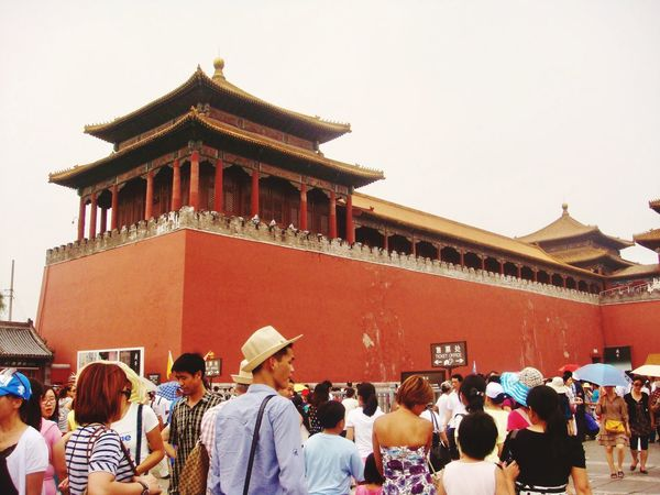 Travel Cina History Forbidden City China Built Structure Group Of People Real People Architecture Crowd Building Exterior Large Group Of People Lifestyles Building Religion