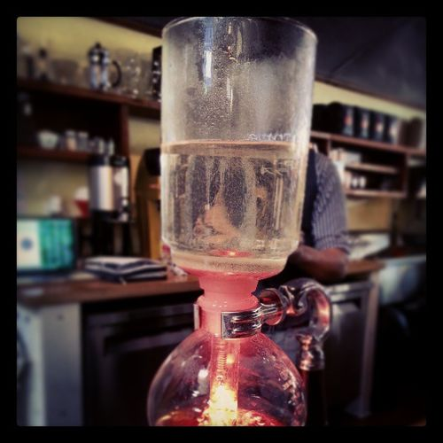 Mad scientists starting my am off right! Coffee Siphon Intelligentsia La losangeles thanks republicofpie best