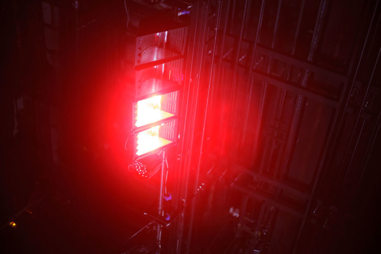 flood lights at the theater Red Indoors  No People Illuminated Architecture Built Structure Lighting Equipment Close-up Nightlife Flare Beam Party Background Abstract Interior Ceiling Stage Spotlight Event Club Equipment Effects Glowing Entertainment Theater