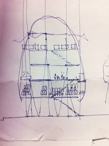 Sketch Drawing Architecture City