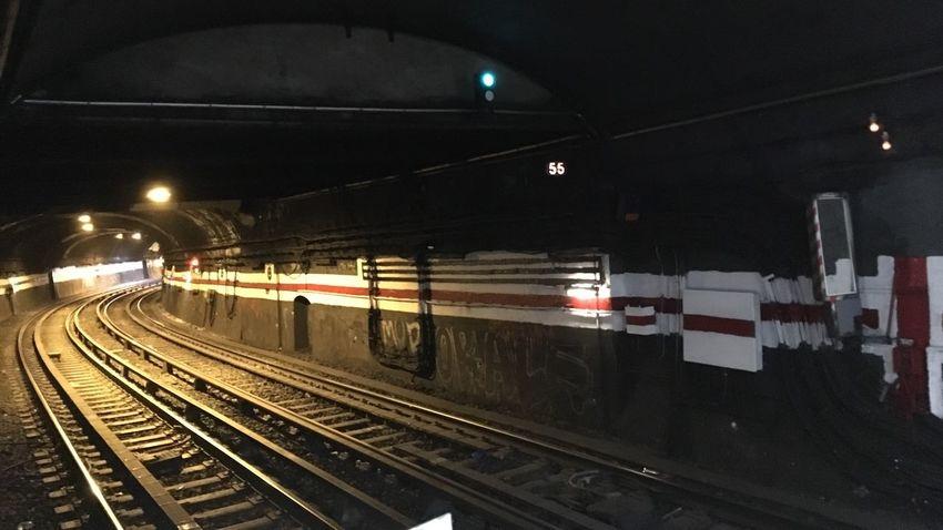 On the way to.... Rail Transportation Public Transportation No People Subway Paris
