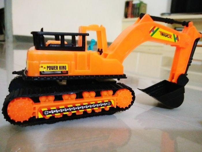 Truck Transportation Collection Toy Photography Toysphotography Orange