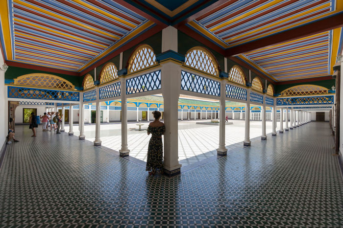 Symmetry I., Marrakesh 2017 Marrakesh Morocco Phototrip Shapes Travel Africa Architecture Built Structure Day Pattern Peter_lendvai Real People Shapes And Forms Sony_a99 Symmetry The Traveler - 2018 EyeEm Awards The Architect - 2018 EyeEm Awards